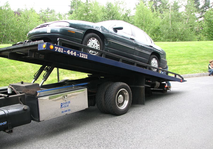 this image shows ripon towing by manteca towing pros